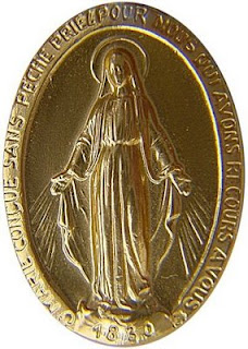 front of_Miraculous_medal